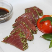 Sashimi of tuna